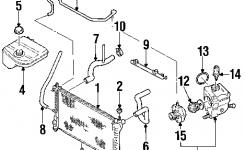Hose, 2.0 Liter, Dohc Engine, Air Aspirator For 2000 Ford Focus with 2002 Ford Focus Parts Diagram