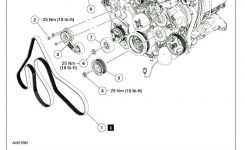 How To Change The Serpentine Belt, Tensioner, And Idler Pullies On pertaining to Ford 5.4 L Engine Diagram