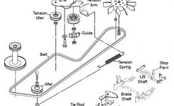 How To Change The Traction Belt On A John Deere Lt155: 8 Steps with John Deere Lt155 Parts Diagram