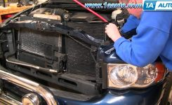 How To Install Repair Replace Part 1 Ac Condensor Cooling Fan for 2004 Dodge Ram 1500 Parts Diagram