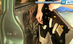 How To Install Replace Door Panel Jeep Grand Cherokee 99-04 1Aauto intended for 1998 Jeep Grand Cherokee Parts Diagram