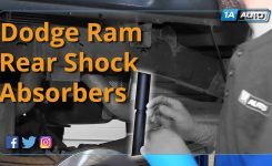 How To Install Replace Rear Shock Absorbers 2002-10 Dodge Ram 1500 inside 2002 Dodge Ram 1500 Parts Diagram