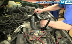 How To Install Replace Serpentine Belt Jeep Grand Cherokee 97-98 pertaining to 1998 Jeep Grand Cherokee Parts Diagram