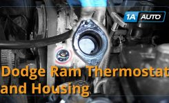 How To Install Replace Thermostat And Housing 2008 Dodge Ram 5.7 L regarding 2003 Dodge Ram 1500 Parts Diagram