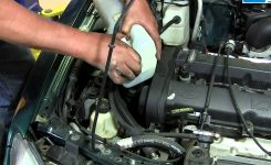 How To Replace A Broken Windshield Washer Pump On Your 1998-03 throughout 1999 Ford Escort Zx2 Engine Diagram