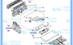 Hp-Laserjet-1010, Parts And Assemblies, The Printer Works in Hp Officejet 4500 Parts Diagram