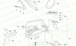 Husqvarna 372Xp Chain Brake & Clutch Cover in Husqvarna 372Xp Chainsaw Parts Diagram