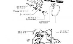 Husqvarna 55 Rancher Epa (2000-05) Chainsaw Chain Brake Spare pertaining to Husqvarna 55 Rancher Parts Diagram