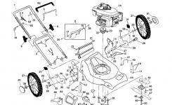 Husqvarna Lawn Mower Parts | Model 5521Chvb | Sears Partsdirect within Husqvarna Lawn Mower Parts Diagram
