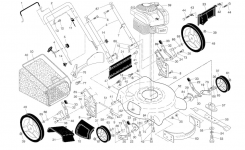 Husqvarna Lawn Mower Parts | Model 5521P96133001804 | Sears with regard to Husqvarna Lawn Tractor Parts Diagram