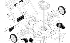 Husqvarna Lawn Mower Parts | Model 96143000108 | Sears Partsdirect intended for Husqvarna Lawn Mower Parts Diagram