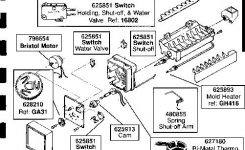 Icemaker Repair Help   Appliance Aid in Kitchenaid Ice Maker Parts Diagram