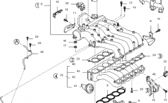 Intake Manifold For 2003 Kia Sorento | Kia Parts Now for 2005 Kia Sorento Engine Diagram