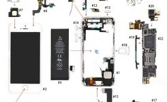 Iphone 5 Parts Diagram – Vkrepair intended for Iphone 5 Internal Parts Diagram