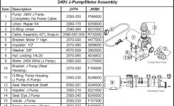 Jacuzzi Spa Seal Assembly, Mechanical Shaft, .625 Diameter (J-Pump regarding Dimension One Spa Parts Diagram