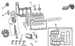 Jeep Liberty 3.7L Engine Parts | Free Shipping At 4Wd for 2005 Jeep Liberty Parts Diagram