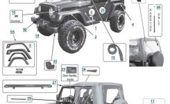 Jeep Wrangler Body Parts | {Instock} Tj Body Parts For Wrangler At within 1997 Jeep Wrangler Parts Diagram