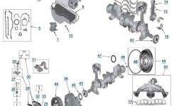 Jeep Wrangler Engine 2.5 L 4-Cylinder | 87-95' Yj Wrangler Parts intended for 2004 Jeep Wrangler Parts Diagram