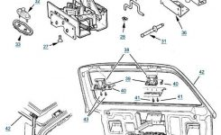 Jeep Xj Cherokee Liftgate Parts | Free Shipping At 4Wd in 1999 Jeep Grand Cherokee Parts Diagram