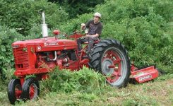 Joe's Farmall M Site – The Investments I Made For A Working Show for Bush Hog Gt42 Parts Diagram