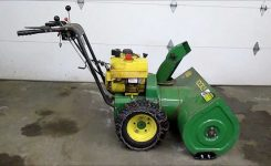 John Deere 1032 Snowblower – Youtube pertaining to John Deere 826 Snowblower Parts Diagram