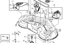 John Deere 145 Deck Parts Diagram throughout John Deere Deck Parts Diagram