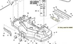 John Deere 648M Quik Trak Mower Parts intended for John Deere 345 Parts Diagram
