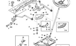 John Deere D105 Lawn Tractor Parts with regard to John Deere Mower Parts Diagram