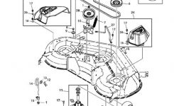 John Deere D140, D150, D155, D160 Deck Parts Diagram throughout John Deere D140 Parts Diagram