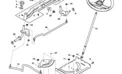 John Deere D150 Lawn Tractor Parts intended for John Deere Lx176 Parts Diagram
