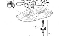 "John Deere La105 Series 42"" Deck Parts Diagram for John Deere Deck Parts Diagram"