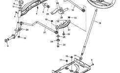 John Deere La105 Series Steering Parts within John Deere La105 Parts Diagram