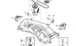 John Deere La150 Lawn Tractor Parts inside John Deere Lx176 Parts Diagram