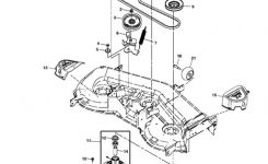 John Deere La175 Lawn Tractor Parts intended for John Deere La125 Parts Diagram