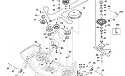 John Deere Z820A Z Trak Mower Parts with John Deere Deck Parts Diagram
