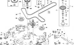 John Deere Z950A Z Trak Mower Parts throughout John Deere 737 Parts Diagram
