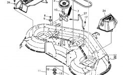 John Deerex140 Belt,sheaves,spindles And Blades Exploded Parts throughout John Deere Garden Tractor Parts Diagram