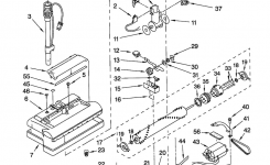 Kenmore Cainster Vacuum Cleaner Parts | Model 11620512003 | Sears with Kenmore Vacuum Model 116 Parts Diagram