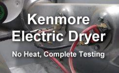 Kenmore Electric Dryer – Not Heating, What To Test And How To Test with regard to Kenmore 90 Series Dryer Parts Diagram