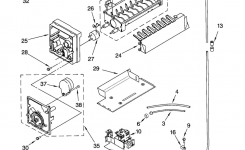 Kenmore Elite Side-By-Side Refrigerator Parts | Model 10650589001 intended for Kenmore Side By Side Refrigerator Parts Diagram