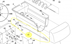 Kenmore Refrigerator Icemaker Producing Crushed Ice Only intended for Ge Refrigerator Ice Maker Parts Diagram