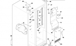 Kenmore Side-By-Side Refrigerator Parts | Model 25351392102 within Kenmore Side By Side Refrigerator Parts Diagram