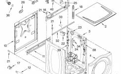 Kenmore Washer Parts | Model 11046462500 | Sears Partsdirect inside Kenmore Front Load Washer Parts Diagram