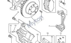 Land Rover Freelander 1 – Front Brake Disc And Caliper – From in Land Rover Freelander Parts Diagram