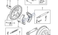 Land Rover Freelander 1 – Rear Drum Brakes – From 1A000001 Diagram within Land Rover Freelander Parts Diagram