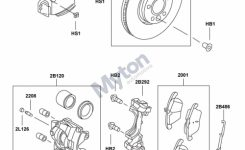 Land Rover Freelander 2 – Front Brake Discs, Pads & Calipers regarding Land Rover Freelander Parts Diagram