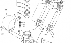 Leaking Trim Seals for Yamaha Outboard Motor Parts Diagram