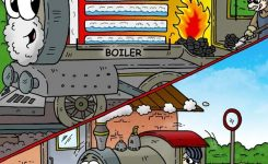 Learn About Steam Engines in Steam Engine Diagram For Kids