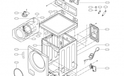 Lg Washer Parts | Model Wm2010Cw | Sears Partsdirect with Lg Front Load Washer Parts Diagram