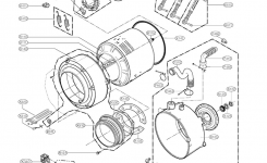 Lg Washer Parts | Model Wm2277Hs | Sears Partsdirect inside Lg Front Load Washer Parts Diagram